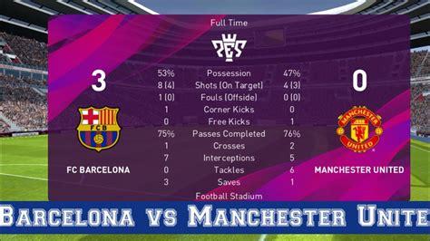 Barcelona vs Manchester United 🏀 - YouTube