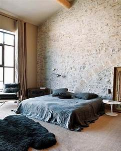 31, idea, to, decorate, a, brick, wall, behind, your, bed