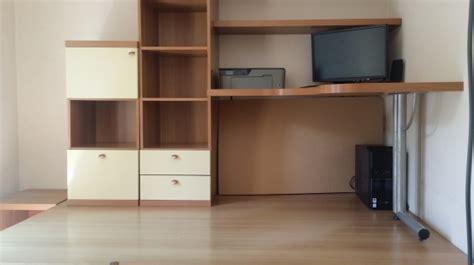 bureau estrade ensemble lit bureau estrade mezzanine meubles décoration