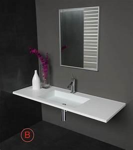 Vasque à Encastrer : vasques largeur 105 plan vasque suspendue ou encastrer ~ Edinachiropracticcenter.com Idées de Décoration