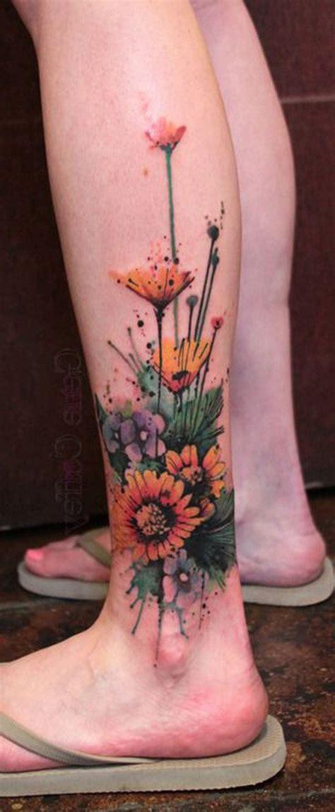 ideas  calf tattoo women  pinterest