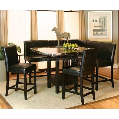 corner kitchen dining table chatham counter height corner dining nook set inspired