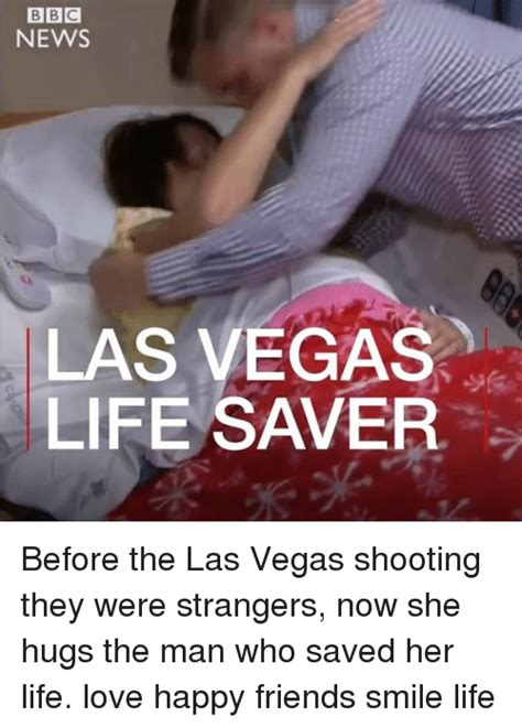 Las Vegas Shooting Memes - news las vegas life saver before the las vegas shooting they were strangers now she hugs the man