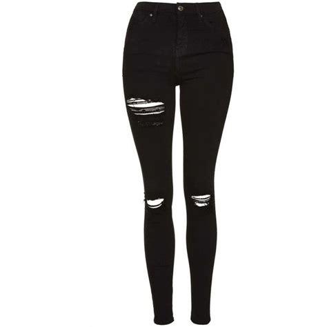 Black Ripped Jeans For Women Ye Jean