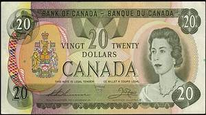 Canada 20 Dollar Note 1979 Queen Elizabeth II|World ...