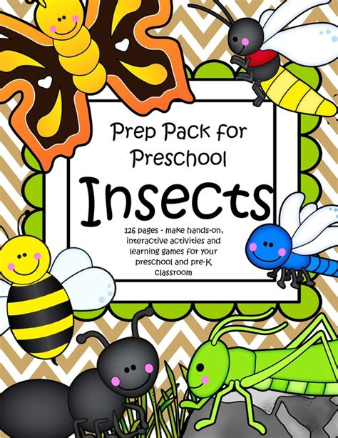 insects theme activities and printables for preschool and 414 | 9689882 orig