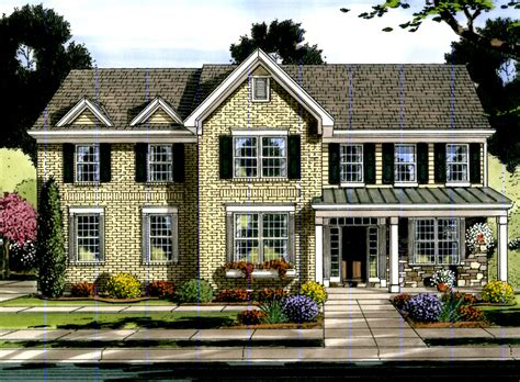 Traditional House Plan #169-1063