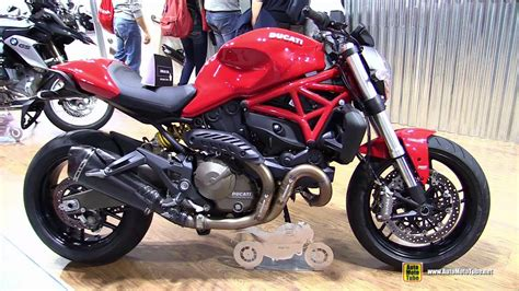 2015 Ducati Monster 821 With Slip-on Exhaust Kit By Zard