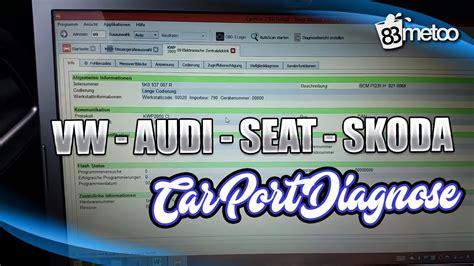 vw diagnose software vw audi seat und skoda mit car port diagnose codieren