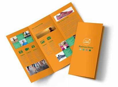 Club Running Brochure Template Brochures Templates Mycreativeshop