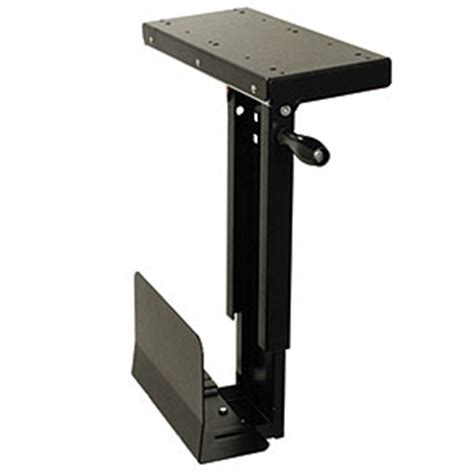 Mini Cpu Holder Desk Mount by Cpu Holder Desk Mount Small Zt1080151