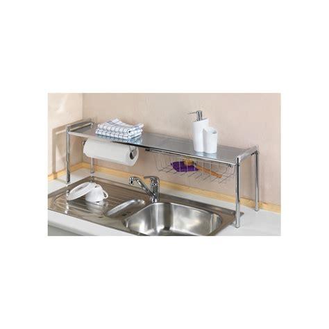 porte ustensile de cuisine etagère de cuisine avec dérouleur et porte ustensiles