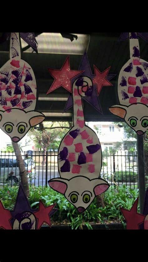christmas art projects in austrailia australian animal playgroup activities possum craft