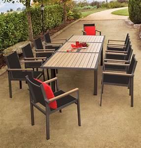 stunning construire une table de jardin en bois ideas With fabriquer sa table de jardin en bois