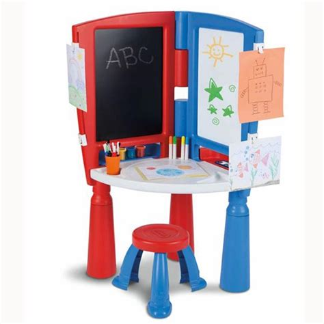 fisher price drawing desk little tikes 2 in 1 art desk easel review