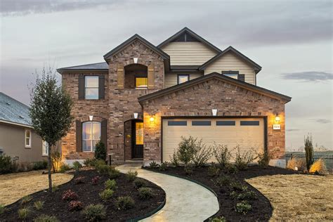 New Homes For Sale In Round Rock, Tx  Siena Community By