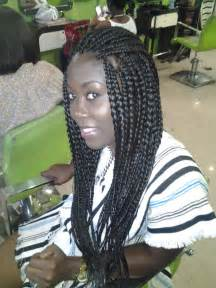 Loose Braid Hairstyles Black