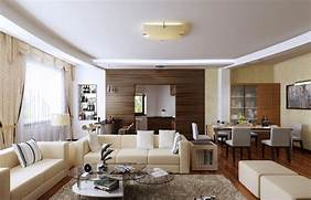 Living Room Dining Room Combo Lighting Ideas by Living Room Dining Room Family Bar Interior Design 3D 3D House Free 3D Hou