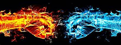 Fire Water Storm Fight Picsart Users Background