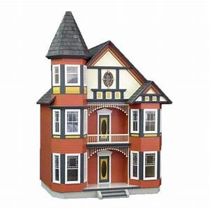 Victorian Painted Lady Dollhouse Kit I Like The Pink