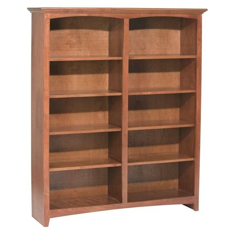 whittier wood bookcase   wide   heights