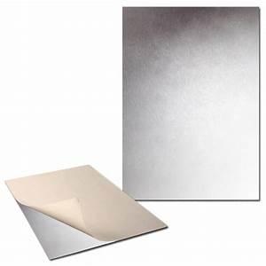 Plaque De Metal : plaque de m tal extra fine adh sive x 2 tableau magn tique creavea ~ Teatrodelosmanantiales.com Idées de Décoration