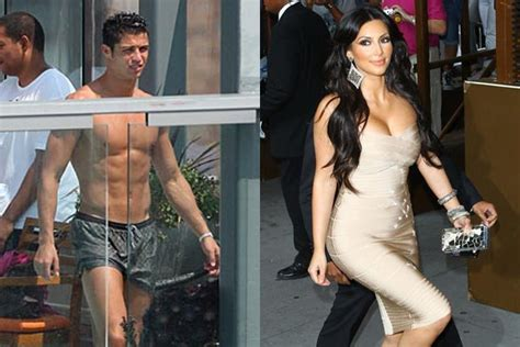 Kim Kardashian And Cristiano Ronaldo Hook Up The Sequel
