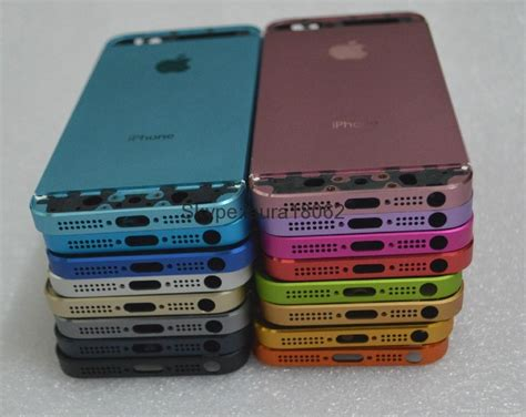 iphone 5s housing replacement metal back housing battery door cover mid frame