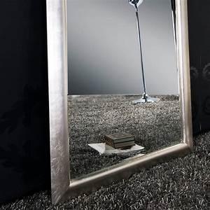 Großer Spiegel Silber : gro er spiegel eleganza wandspiegel silber 190 x 90 cm ebay ~ Indierocktalk.com Haus und Dekorationen
