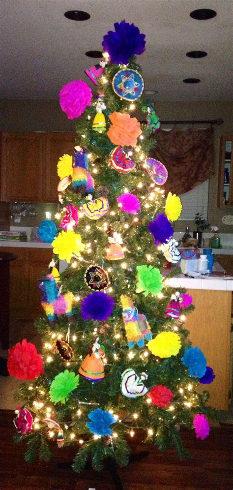 mexican christmas decorations ideas mexican tree my style mexican tree decorations mexican