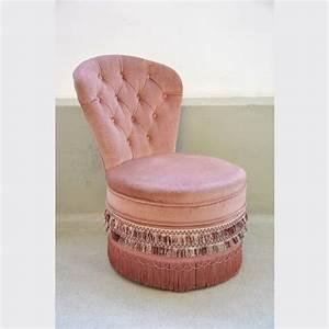 Pouf Rose Poudré : fauteuil crapaud rose poudr tissu rose dans son jus classique 71035 canape velour ~ Teatrodelosmanantiales.com Idées de Décoration
