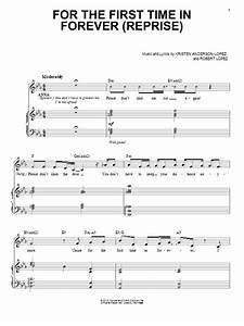For The First Time In Forever (Reprise) sheet music by ...