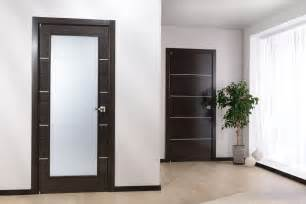 home interior doors modern home luxury avanti vetro modern interior door black apricot finish
