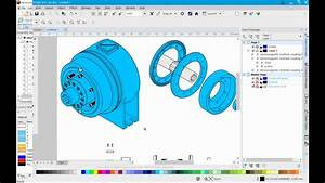 Streamlined 3d Authoring In Coreldraw Technical Suite