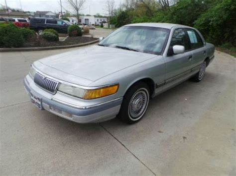 sell   mercury grand marquis gs   columbus