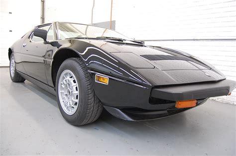 maserati coupe black 1980 maserati merak ss coupe black for sale