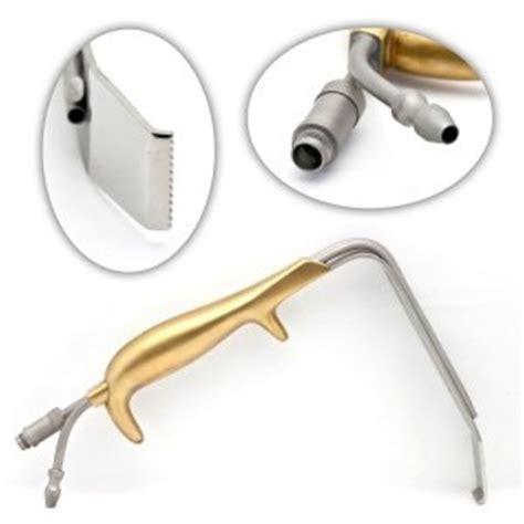 lighted st marks retractor lighted fiber optic retractors millennium surgical