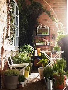 kleine gartenparadiese die uberall moglich sind sweet home With feuerstelle garten mit solarleuchten balkon ikea