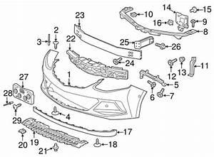 oem 2017 chevrolet volt bumper components front parts With new chevy volt 2017