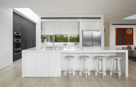 kitchen islands with seating for sale 30 contemporary white kitchens ideas
