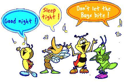 Goodnight Bed Bugs Funny Cartoon Bed Bugs Pinterest