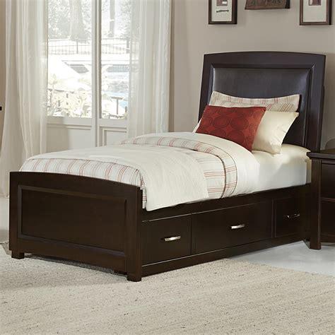 Bassett Upholstered Beds by Vaughan Bassett Transitions Upholstered Bed