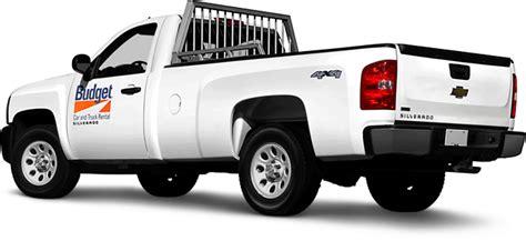 Pickup Truck Rental From Budget Truck Rental Bc