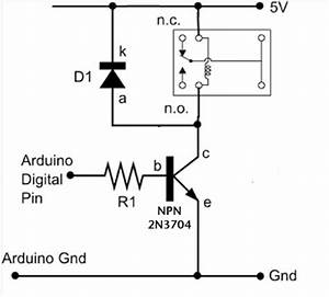 dc motors relays use arduino for projects With arduino relay wiring