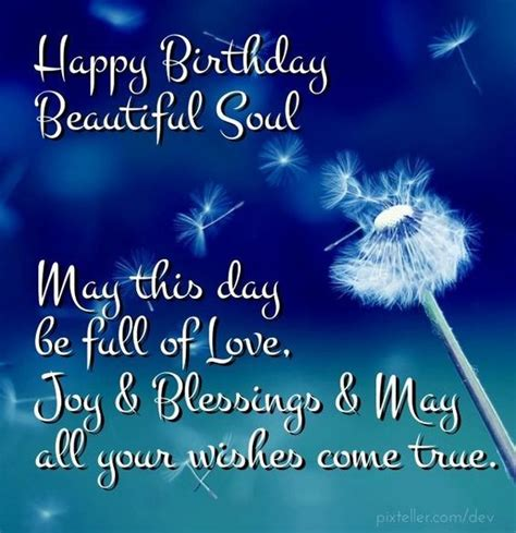 happy birthday beautiful soul pictures   images  facebook tumblr pinterest