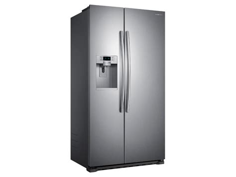 22 cu ft counter depth side by side refrigerator