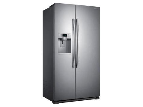 samsung counter depth refrigerator side by side 22 cu ft counter depth side by side refrigerator
