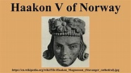 Haakon V of Norway - YouTube