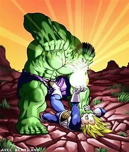 Hulk vs Vegeta by shadowstheater on DeviantArt