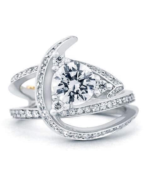 luxury wedding rings luxury contemporary engagement ring schneider design